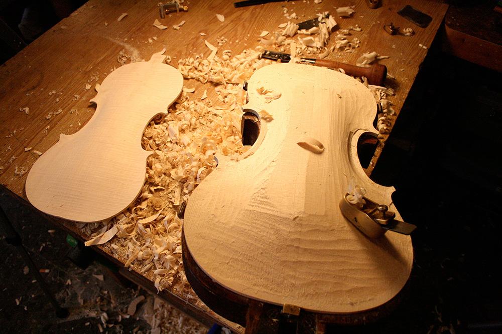 taller mantenimiento violin