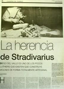 Articulo periodico la herencia de stradivarius